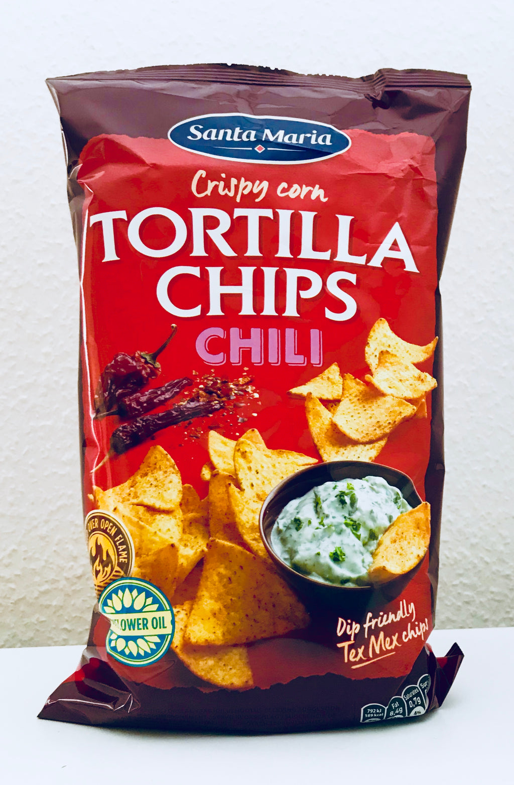 Tortilla Chips Chili 185g - Santa Maria