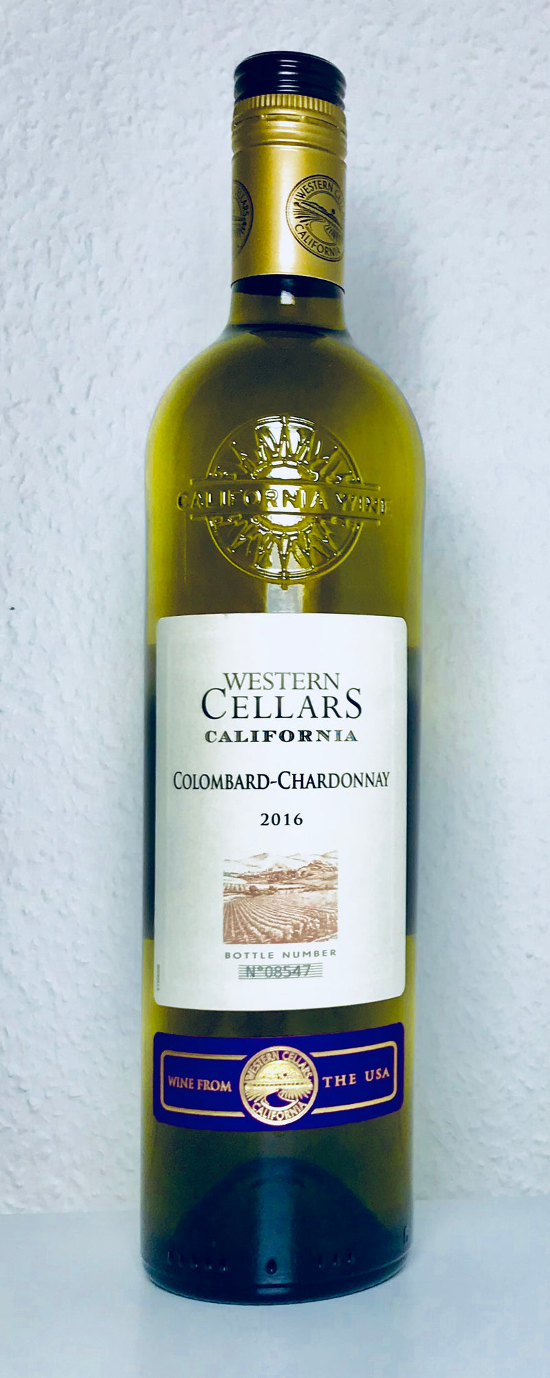 Western Cellars - Colombard-Chardonnay 12%, 75cl