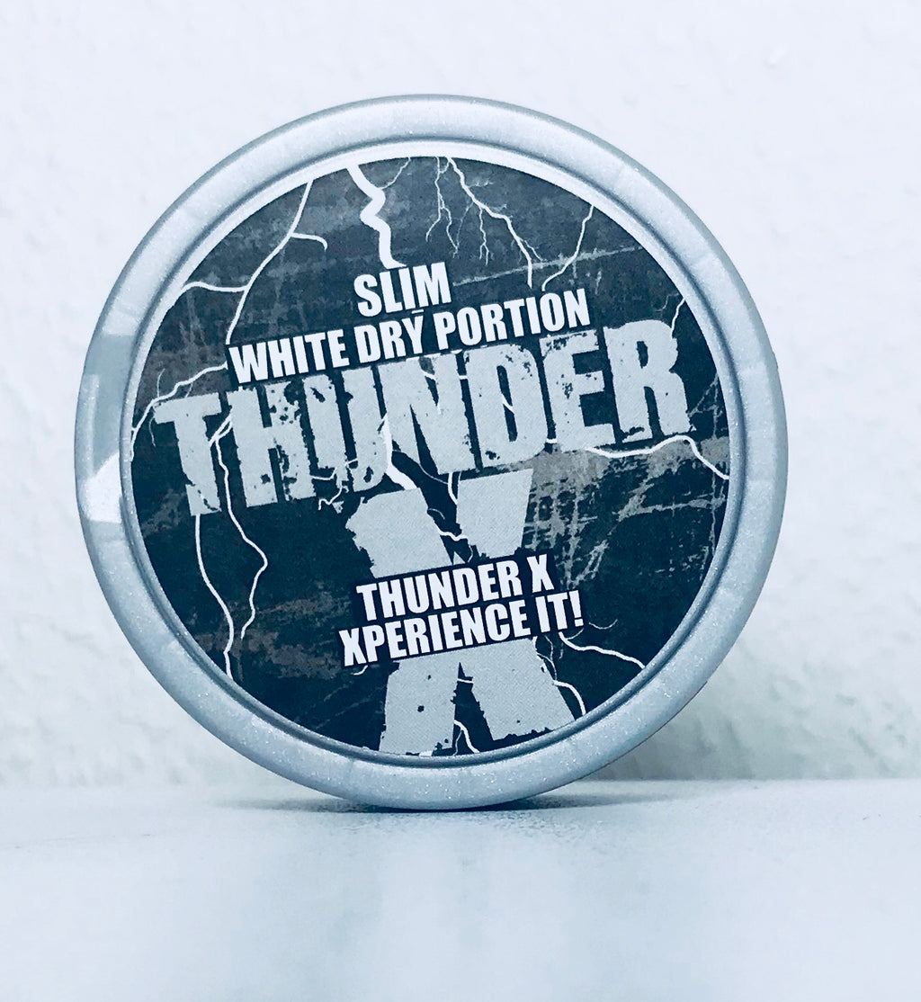 Thunder X Slim White Dry