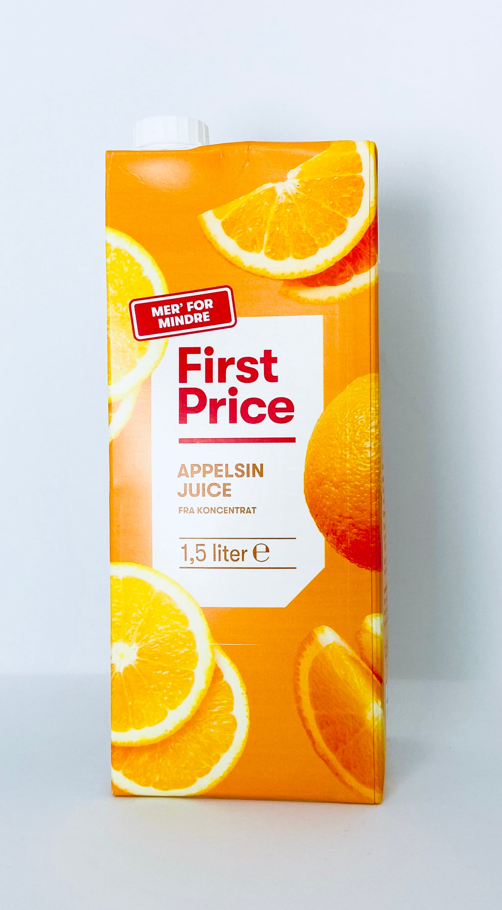 Juice Appelsin 1,5l - First Price