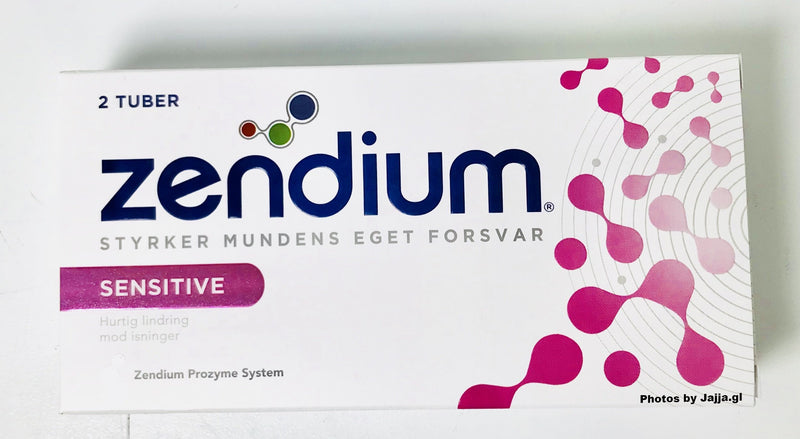 Zendium Sensitive - 2 tuber á 50ml