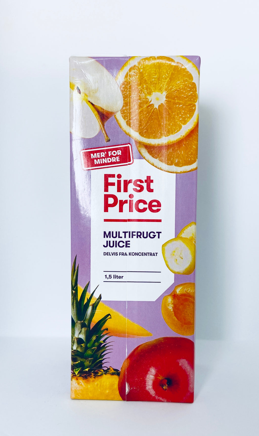 Juice Mild 1,5l - First Price (Spar 5,00kr) (udl. 17-04-21)