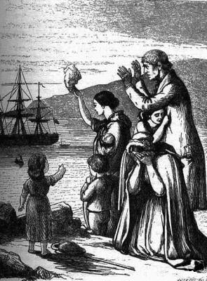 "Famine Children Born at Sea, in the U.S. National Archives ""Prologue"" magazine"