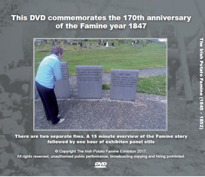 famine exhibition dvd reverse cover