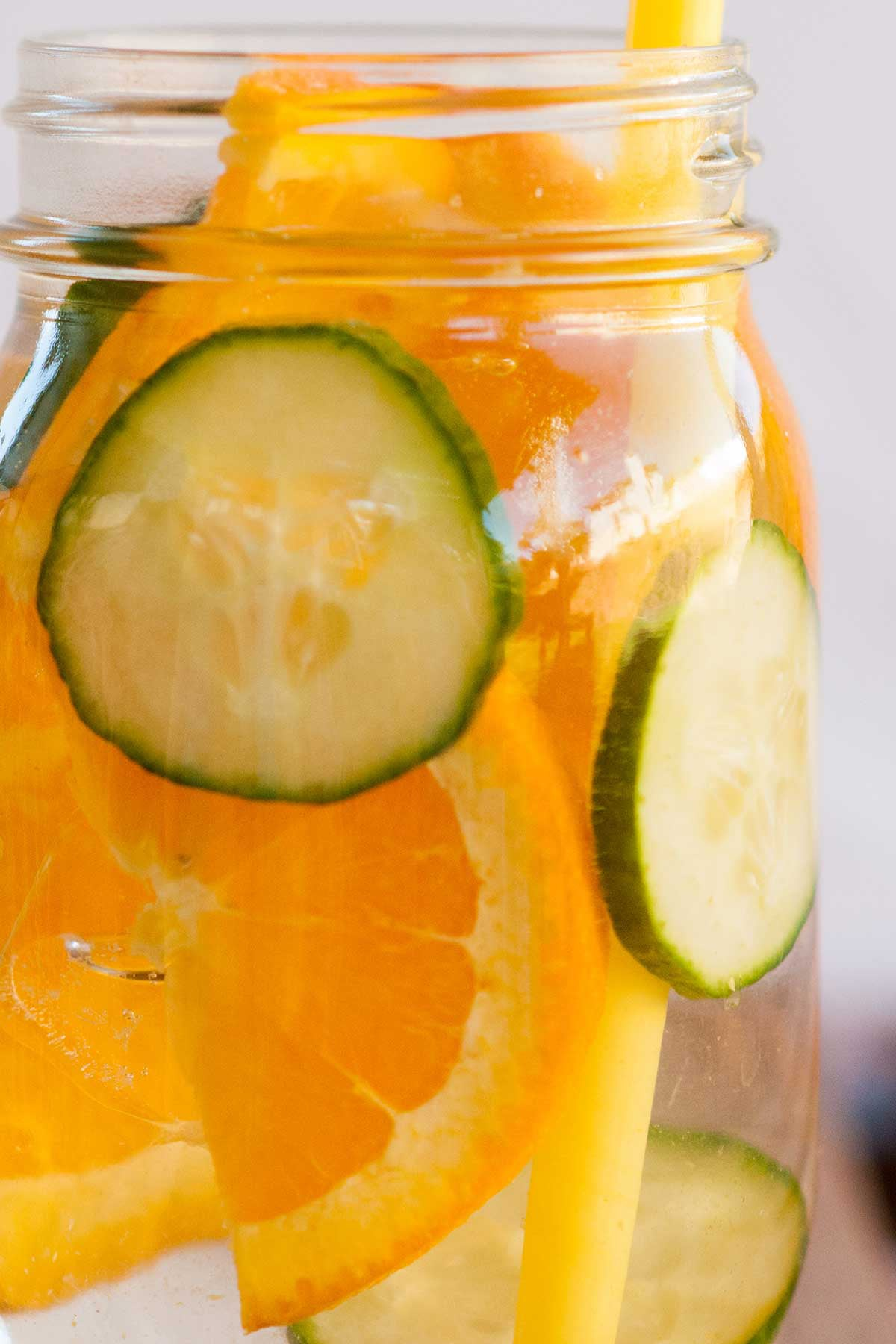 Flavored Water Recipes — Cue to the Orange Flavored Water