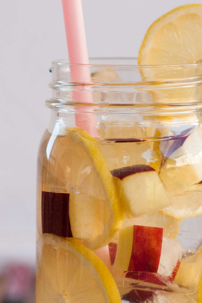 Lemon Apple Water // Water Bar Recipe