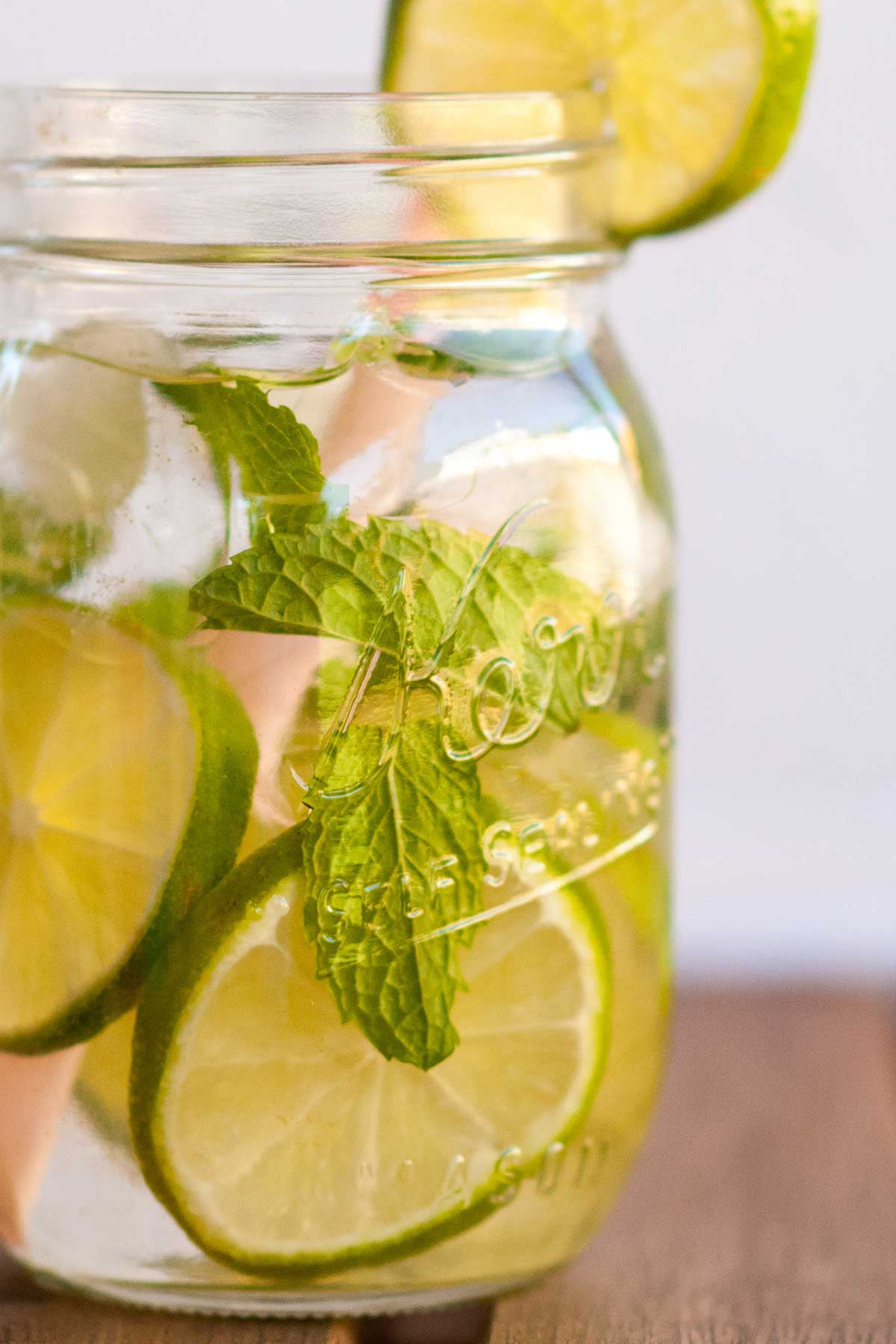 Flavored Water Recipes — Mock Mojitos Madness Water