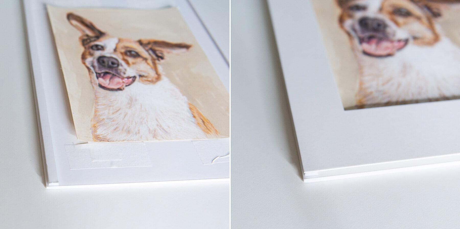 How to frame pastel paintings step by step — Here's how to create a spacer out of extra matboard or foamcore (you can buy spacers which I recommend for frames without mats or skip this part with smaller paintings)
