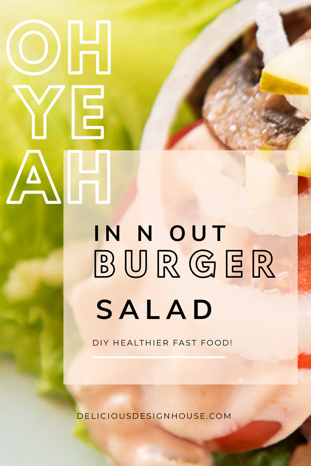 In n Out Burger Salad Recipe — DIY your fast food