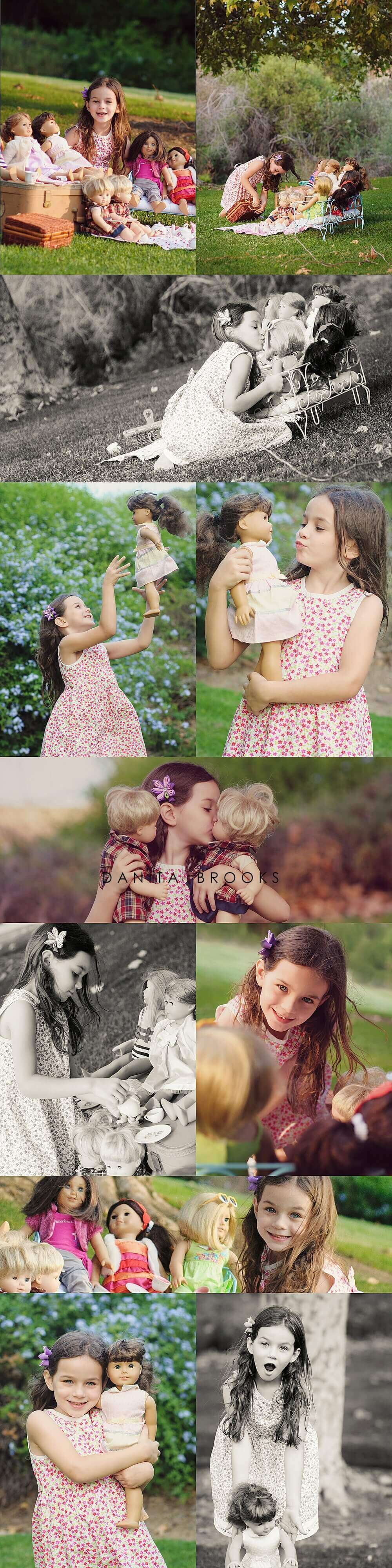 American Girl Photo Session Ideas