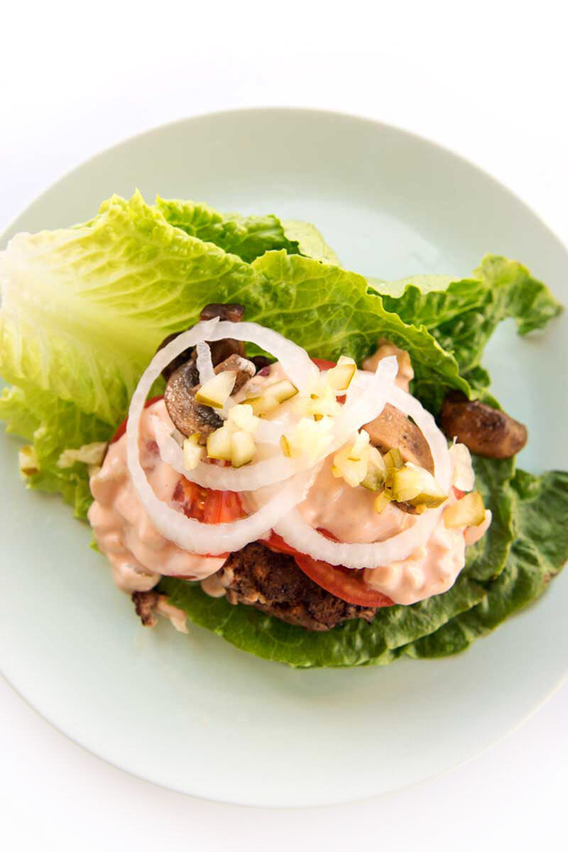 DIY your fast food and make it healthier! Here's our In N Out Burger Salad
