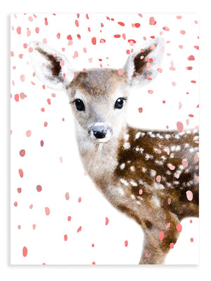 Baby Deer Confetti Animal Print - Delicious Design House
