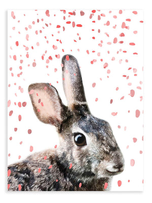 Bunny Confetti Animal Print - Delicious Design House