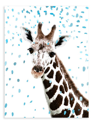 Giraffe Confetti Animal Print - Delicious Design House