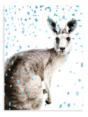 Kangaroo Confetti Animal Print - Delicious Design House