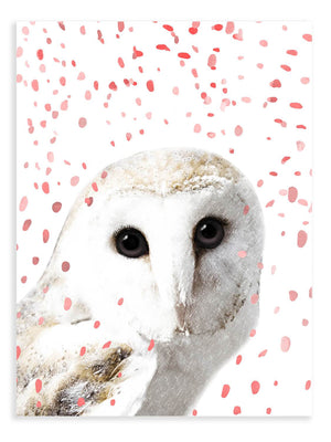 Owl Confetti Animal Print - Delicious Design House