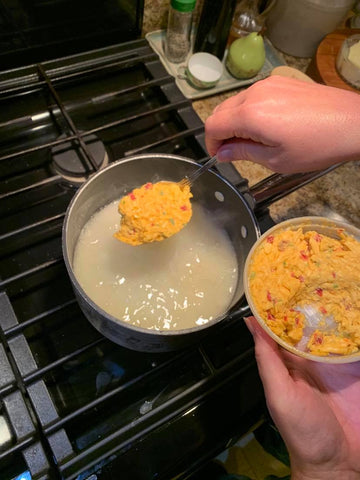 Birdie's Pimento Cheese shrimp and grits recipe