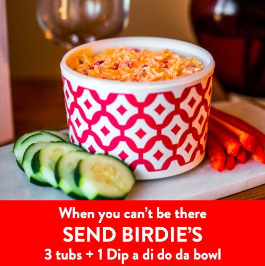 3 Pack & Dip-a-di-do-da Dip Bowl - Birdie's Pimento Cheese