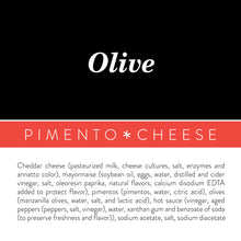 Load image into Gallery viewer, Olive Pimento Cheese - Birdie's Pimento Cheese