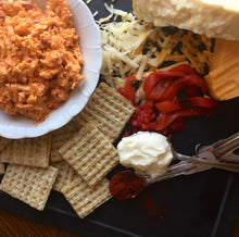 Load image into Gallery viewer, Smoked Gouda + Roasted Red Peppers Pimento Cheese
