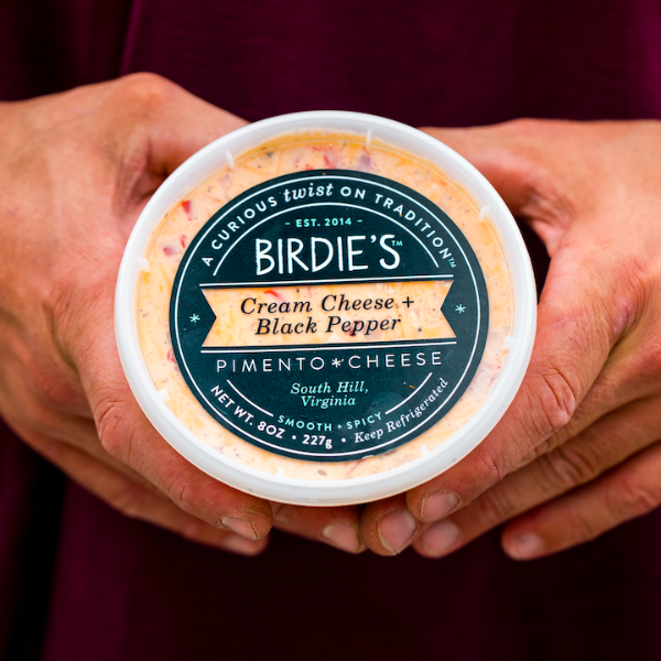 Cream Cheese + Black Pepper Pimento Cheese - Birdie's Pimento Cheese
