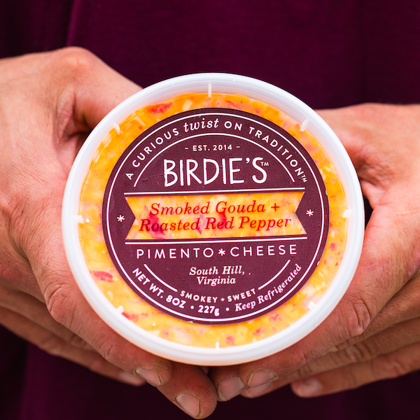 Smoked Gouda + Roasted Red Peppers Pimento Cheese - Birdie's Pimento Cheese