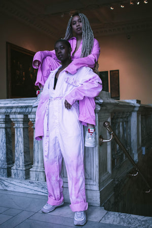 Pink Dye Boilersuit