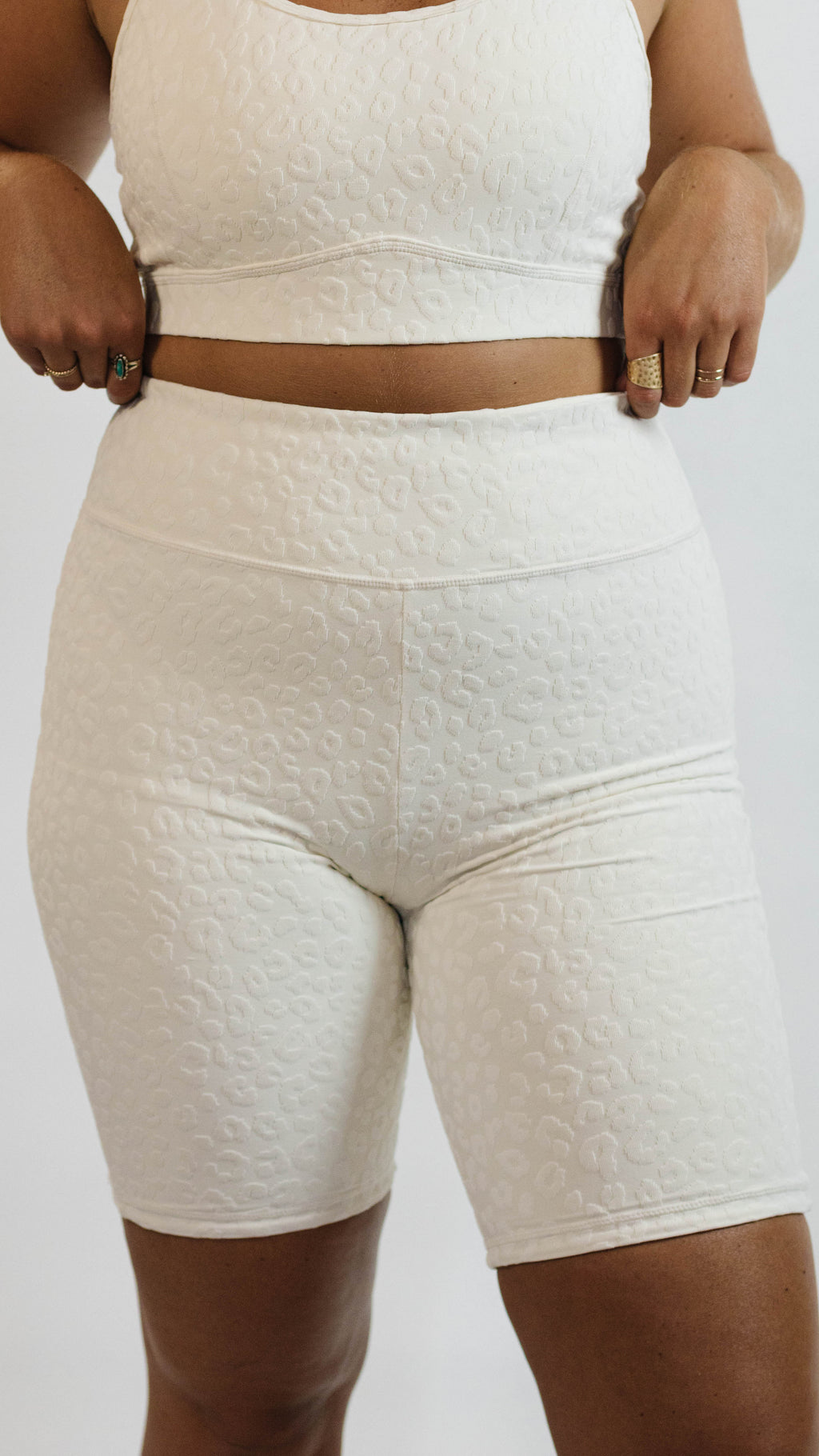 Natural Habitat Shorts — Cream