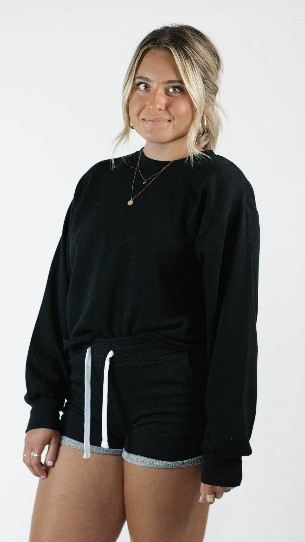 Love To Lounge Pullover — Black