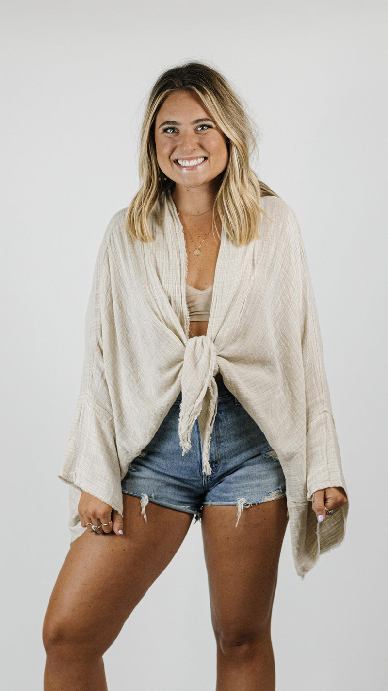 Beachy Beige Top