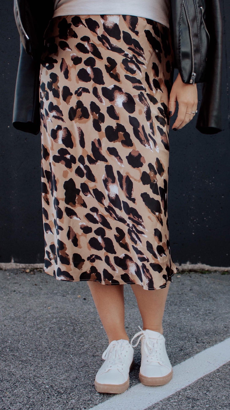 Lovely + Fierce Midi Skirt