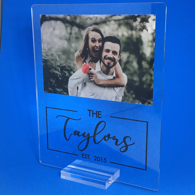 Established Plaque - Fully Customizable