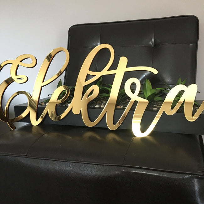 Personalized Acrylic Sign - Mirror