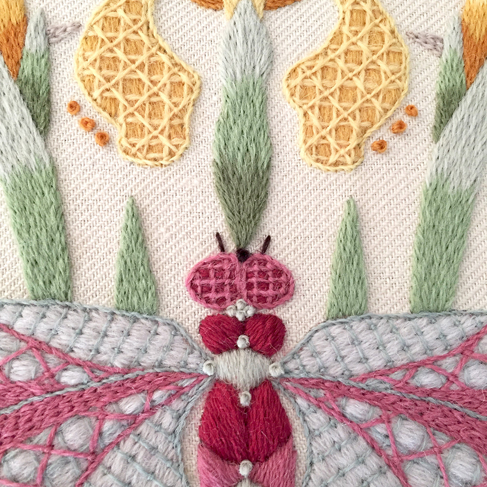 Crewel Embroidery Kit A Halcyon Day