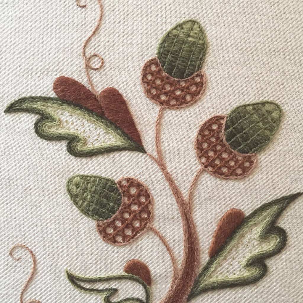 Crewel Embroidery Kit The Merry Monarch
