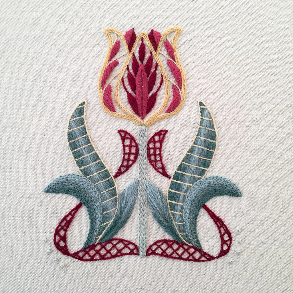 Crewel Embroidery Kit The Tulipa Collector