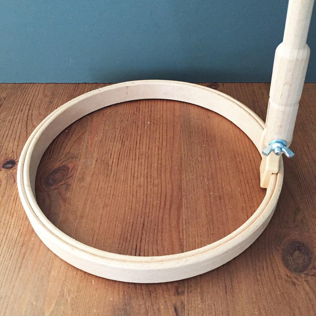 Embroidery Hoops with Stalk 8inch, 20cm