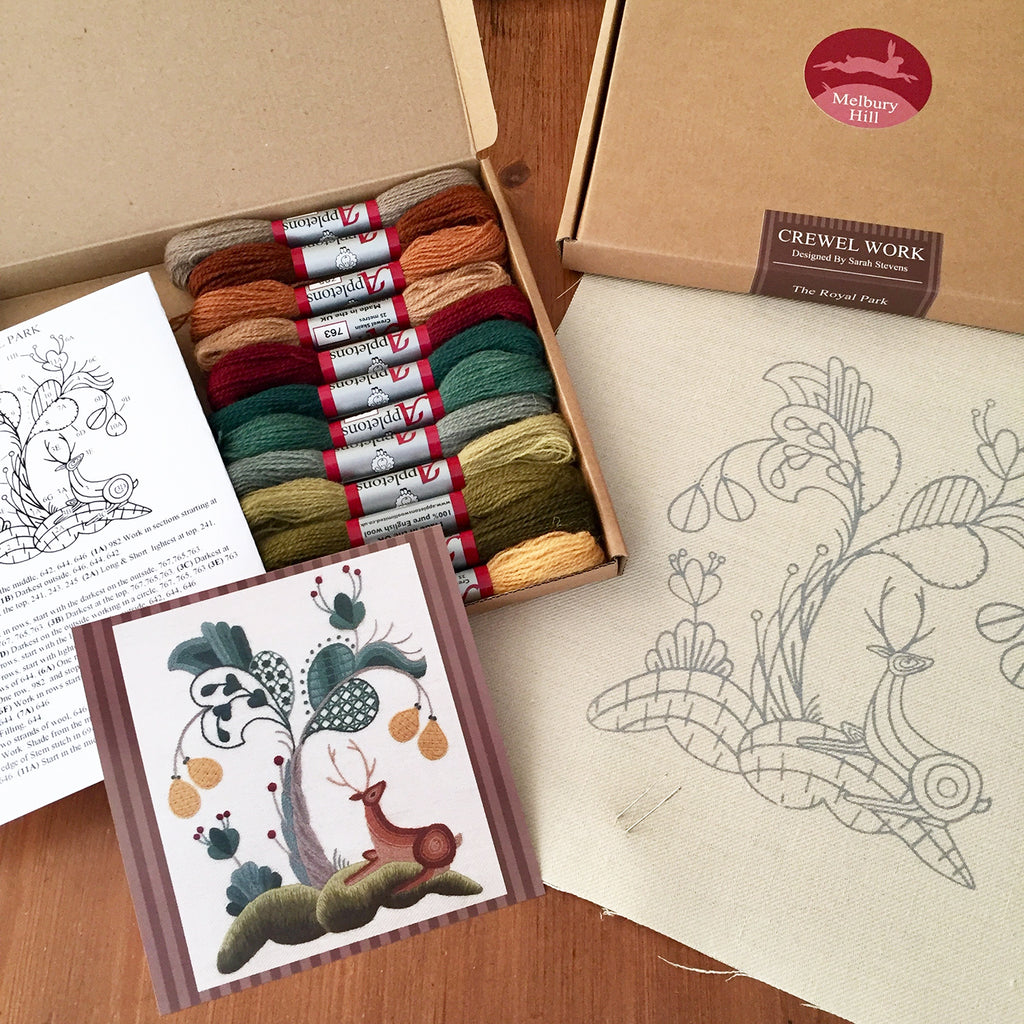 Crewel Embroidery Kit The Royal Park