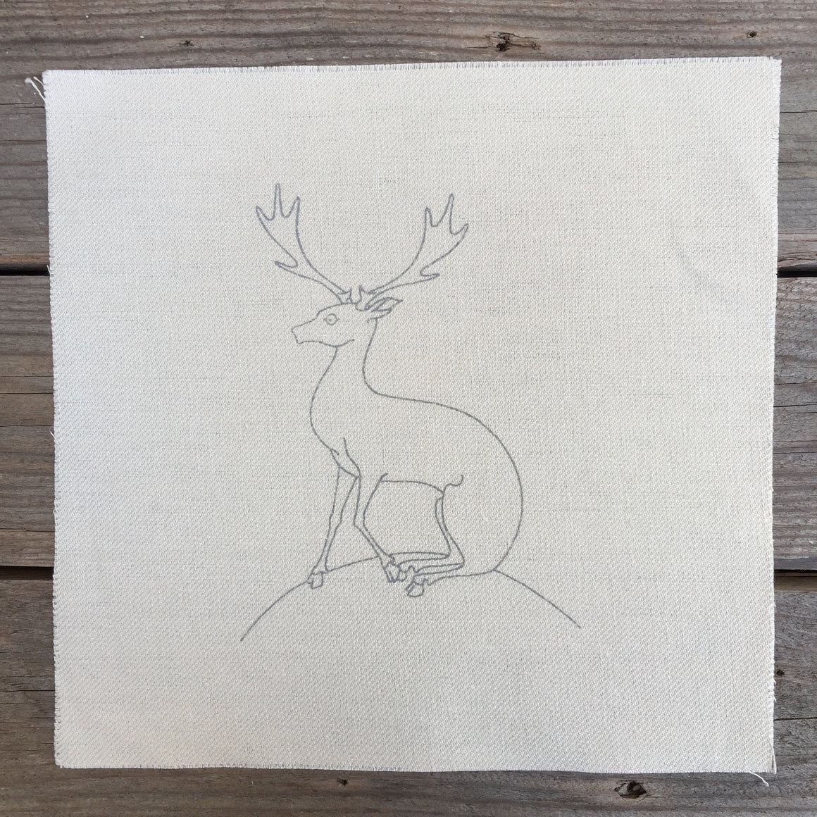 Heritage Range (Animals) Deer Printed Linen