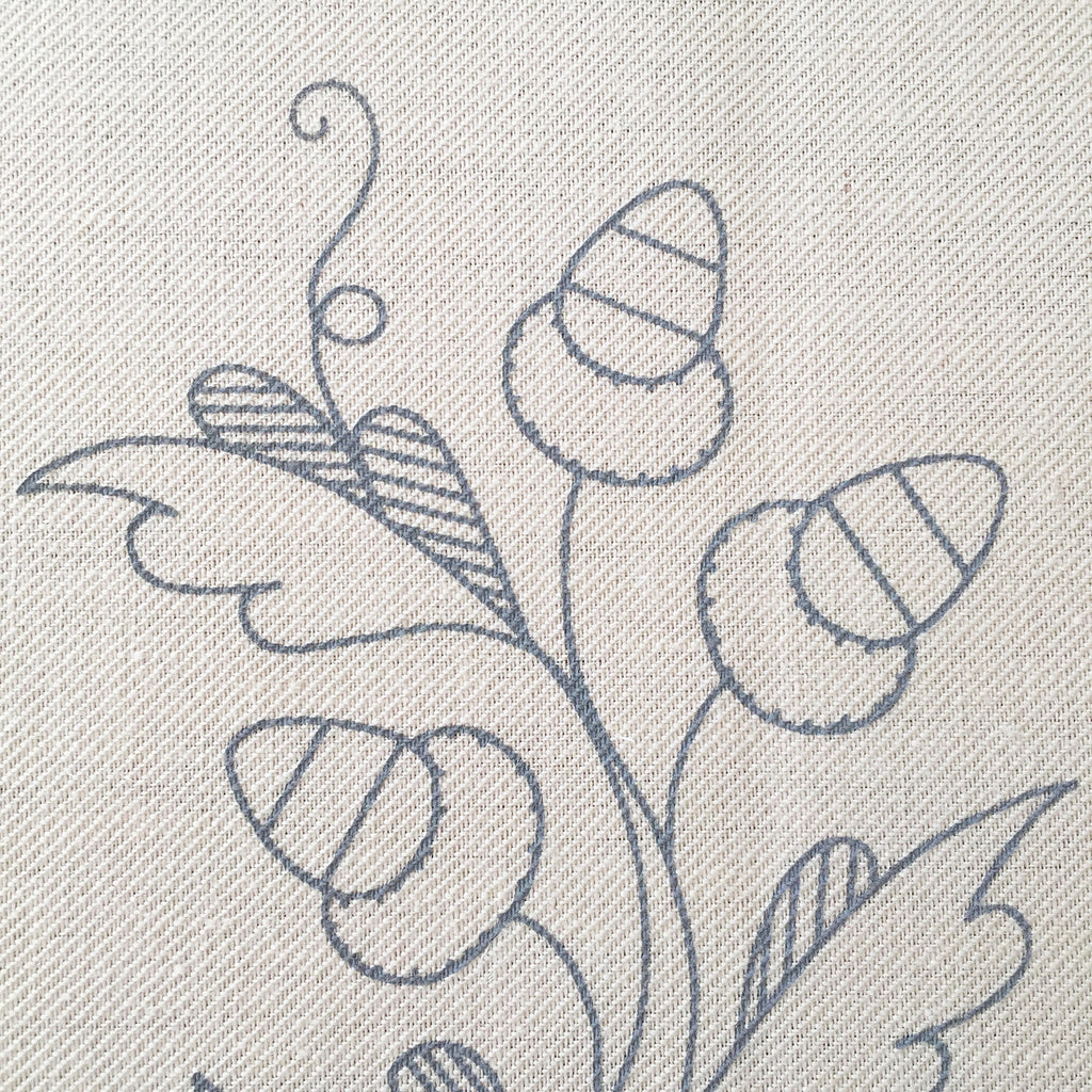 Printed Linen Twill, The Merry Monarch