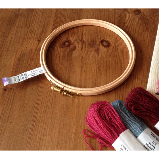Embroidery Hoop 6inch, 15cm