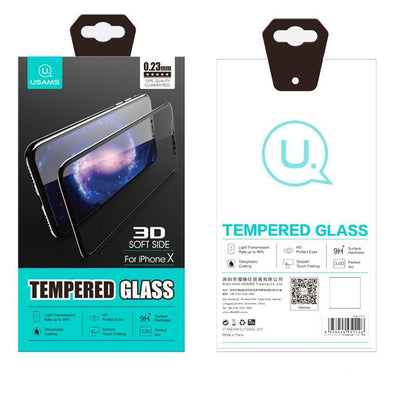 3D Soft Edge Tempered Glass for iPhone X