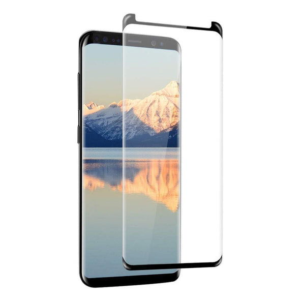 9H Tempered Glass for Samsung Galaxy S8 Plus Black