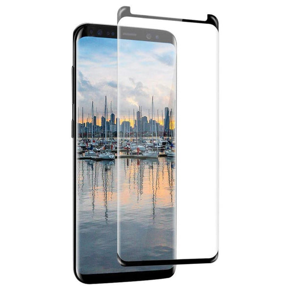 9H Tempered Glass for Samsung Galaxy S9 Black
