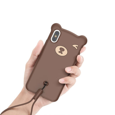 Cute Bear Case for iPhone