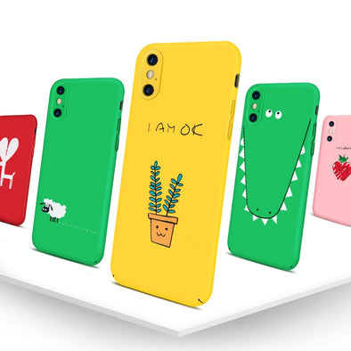 Minimalistic Colorful iPhone Case