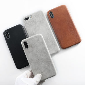 Minimalistic Leather iPhone Case