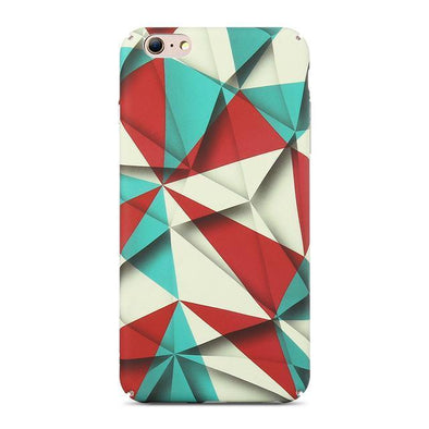 Abstract Rhombus Clown Case for iPhone iPhone 7 / 8
