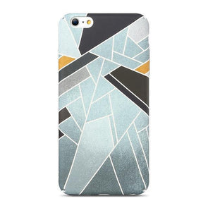 Abstract Rhombus Ice Case for iPhone iPhone 7 / 8