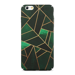 Abstract Rhombus Leaf Case for iPhone iPhone 7 /  8